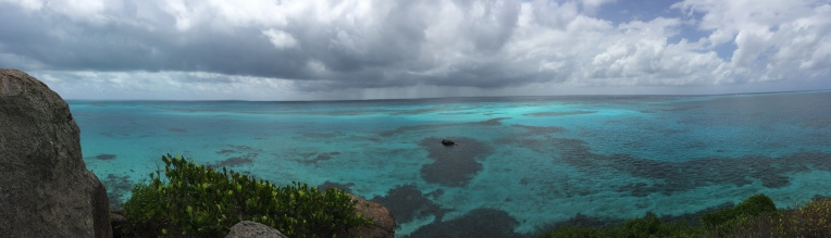 From the top of Crab Cay