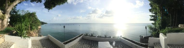 Happy hour terrace.