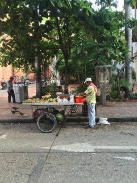 Fruit guy in Cartagena