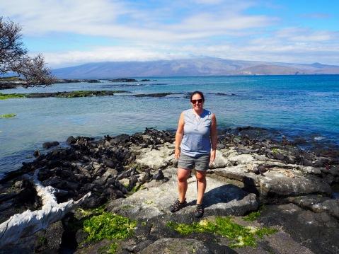 Me and hundreds of iguanas